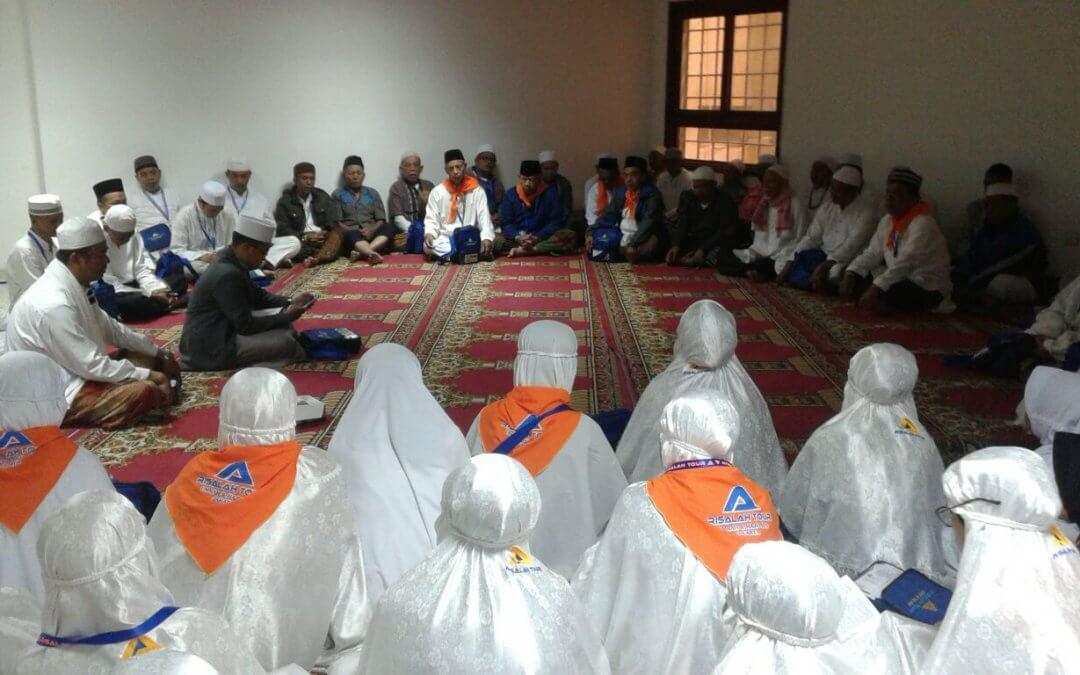 Kegiatan Umroh bulan Maret Risalah Tour di Kota Makkah